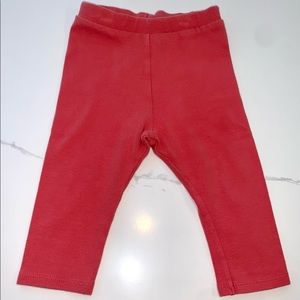 Play Up Soft Cotton Leggings - Pink